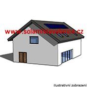 Solární elektrárna s výkonem 6,0kW