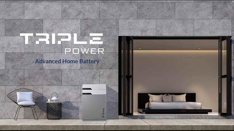 Solax TriplePower baterie